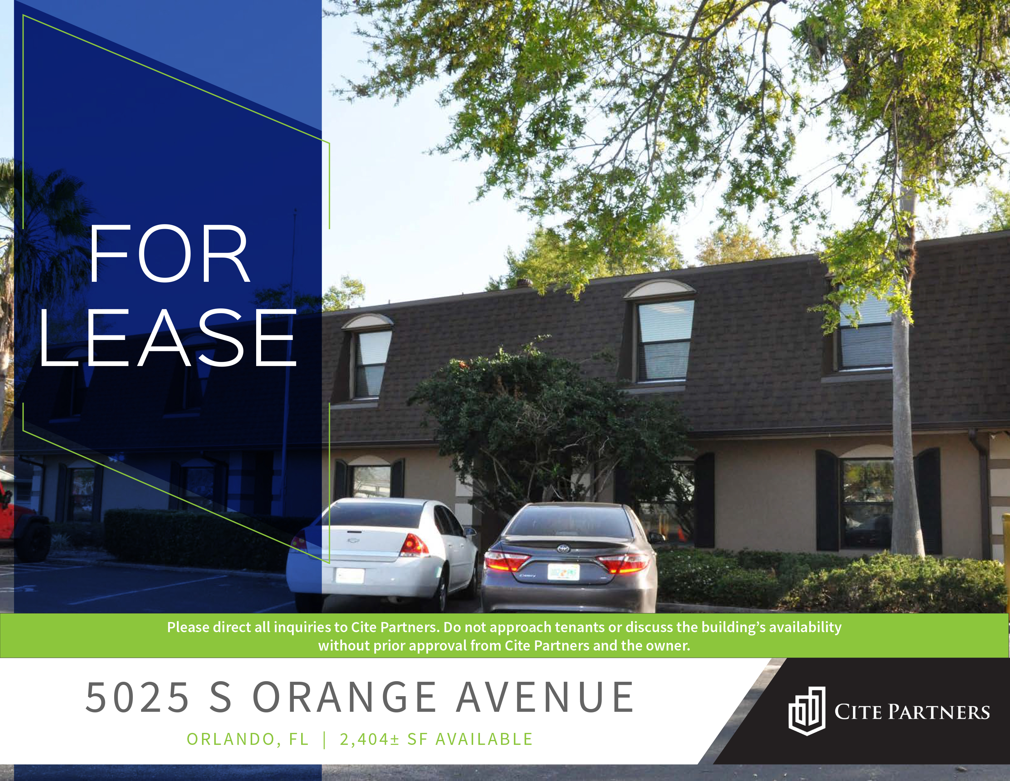 Office Space For Lease – 5025 S Orange Avenue, Orlando, FL 32809