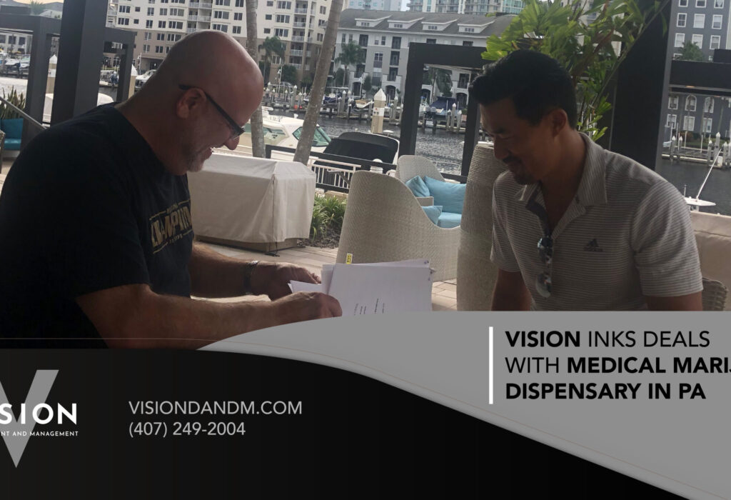 Vision Inks Deals with Medical Marijuana Dispensary in PA