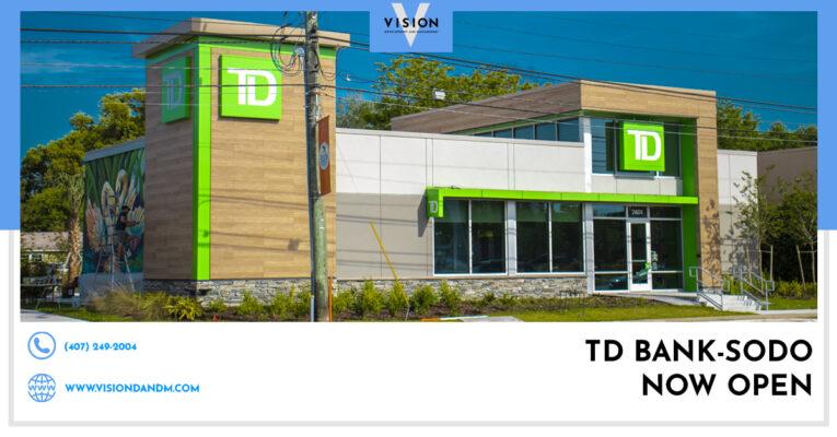 TD Bank is officially open in SoDo!