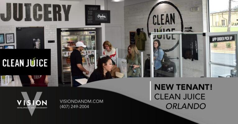 New Tenant! Clean Juice – 1725 S Orange Ave.
