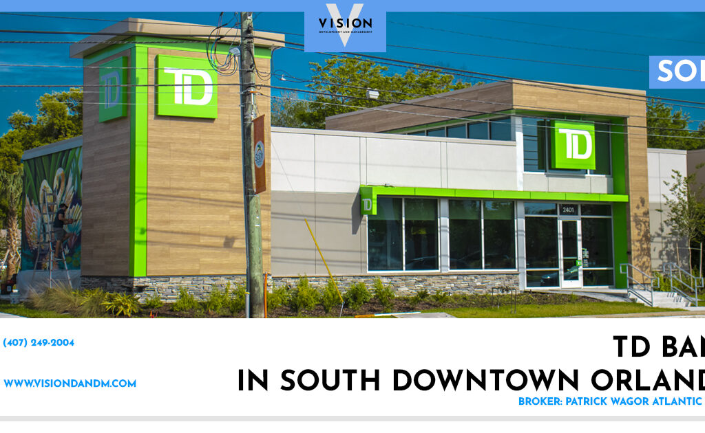 SOLD – TD Bank in South Downtown Orlando
