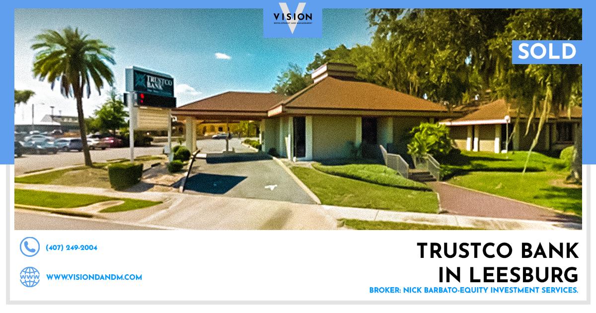 SOLD – Trustco Bank in Leesburg