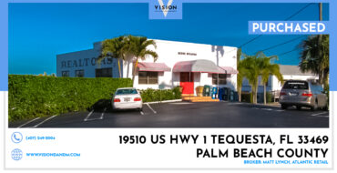 PURCHASED- 19510 US Highway 1 Tequesta, FL