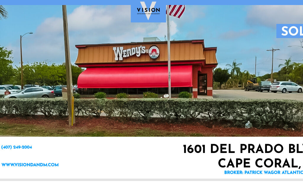 SOLD – Wendy's in Cape Coral