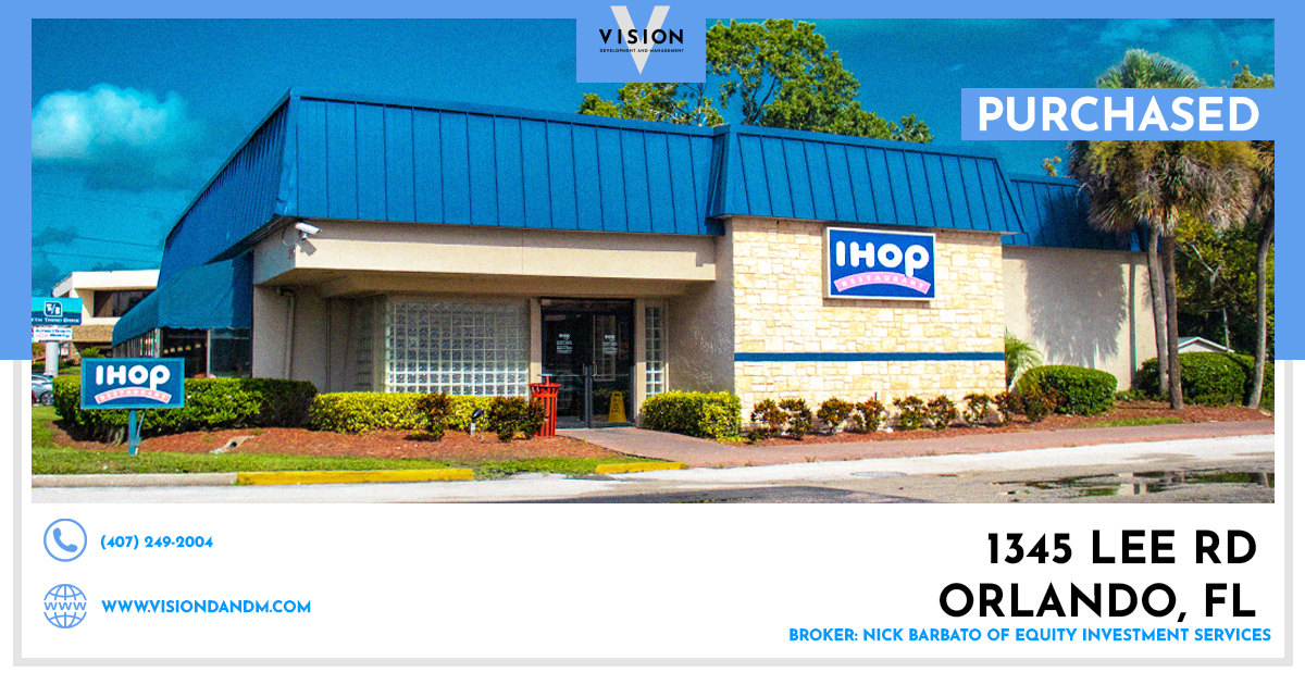PURCHASED- 1345 Lee Rd Orlando, FL